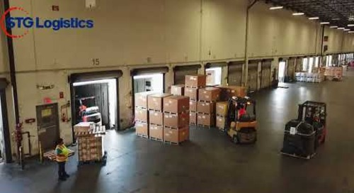 STG Logistics LAX Warehouse
