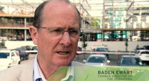 Baden Ewart, former Director of the CCDU/CERA on the new Christchurch central city