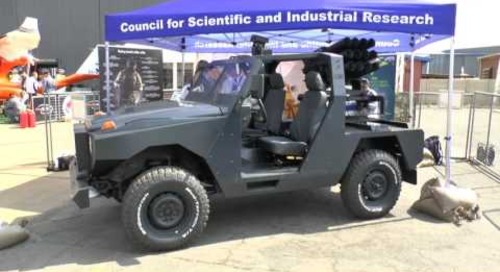 AAD 2016: CSIR Light Tactical Vehicle Demonstrator show debut