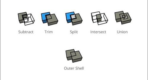SketchUp: Solid Tools