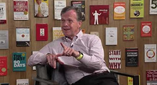 What Stephen R. Covey Taught FrankinCovey's Current CEO | Bob Whitman clip