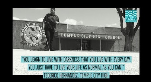 Blind student at Temple City High finds light in the darkness