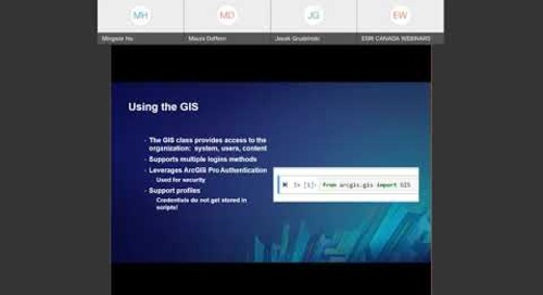 Administering Your ArcGIS Online Organization with the ArcGIS API for Python