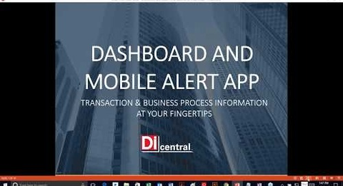 On Call Webinar: EDI Dashboard and Push Notification Demo