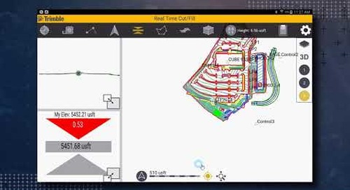 Trimble SitePulse: Main Screen Overview