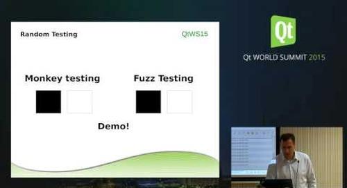 QtWS15- Are you testing enough - Qt application Quality Assurance, Harri Porten, froglogic