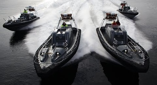 Norsafe Magnum 850 S - 900hp Rescueboat 50 knots