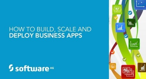Demo: How to Build, Scale and Deploy Business Apps