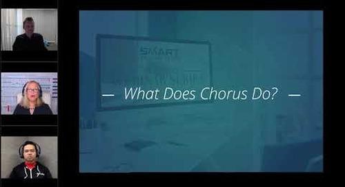 Chorus Smart Selling Tools Webinar