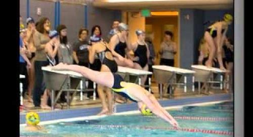 Celebrating the Season | Trinity Swim Team 2014–2015