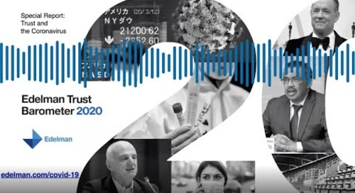 Edelman Brand Trust and COVID-19 Webinar - Providence SVP/CCO Orest Holubec