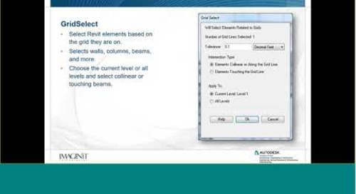 Overview of IMAGINiT Utilities for Revit 2019