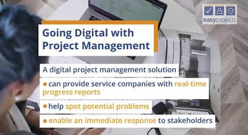 Going digital with Project Management