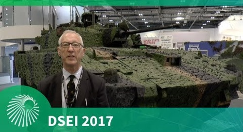 DSEI 2017: General Dynamics' AJAX Armoured Fighting Vehicle