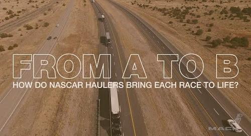 Mack Hauls NASCAR From Race to Race