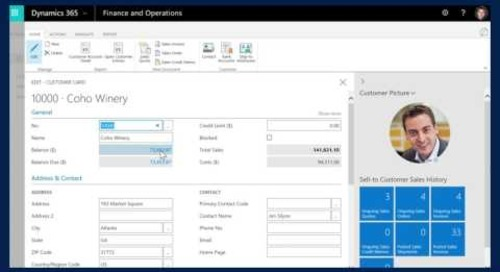 Microsoft Dynamics 365 for Finance and Operations, Business edition - reporting and analytics