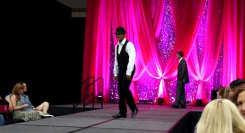 BJ Goliday Dances During Fashion Show