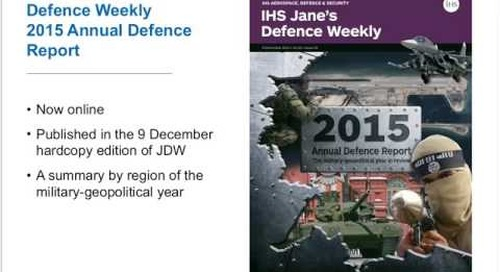 [EXTRACT] IHS Jane's Defence Weekly 2015 Annual Defence Report