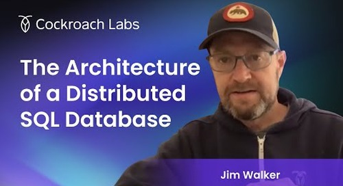 Architecture of a Distributed SQL Database   Cloud Database   Distributed Database