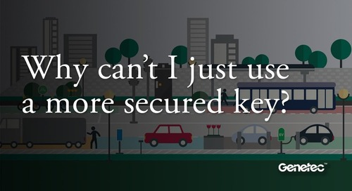 Why can't I just use a more secured key?