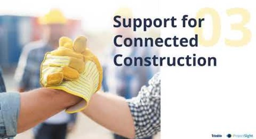 Does the Solution Support Integrations and Connected Construction?