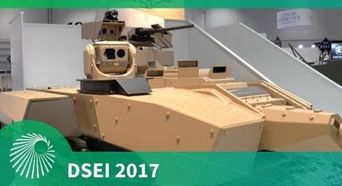 DSEI 2017: T40 CTA Turret - Nexter