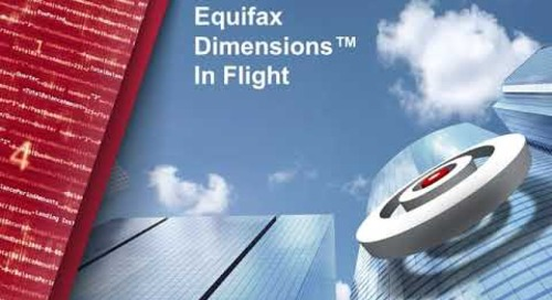 Equifax Dimensions™ - Delivering Precision Insights
