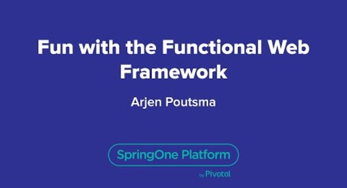 Fun with the Functional Web Framework