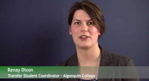 Transfer Credit Webinar - Algonquin College
