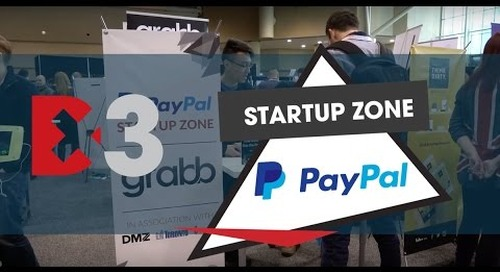 PayPal Startup Zone at Dx3 2016