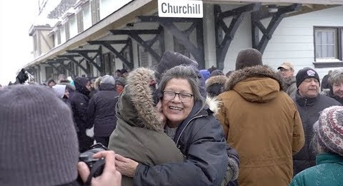 The Return of the Train to Churchill
