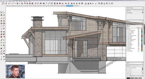 SketchUp for Construction Documentation: Plan Template