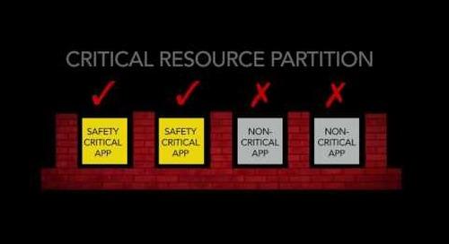 VxWorks Tour Part 3 – VxWorks Safety Overview