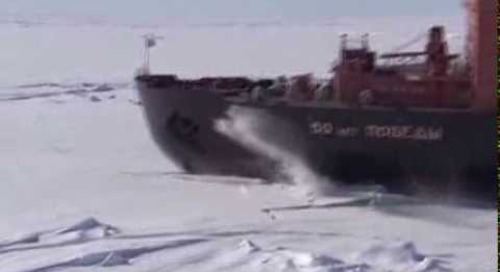 Voyage to the North Pole: 30 second short