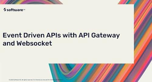 Event Driven APIs with API Gateway & Websocket | webMethods.io API Gateway