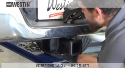 Installation of Westin Receiver Hitch on a 2015 Dodge Ram 1500