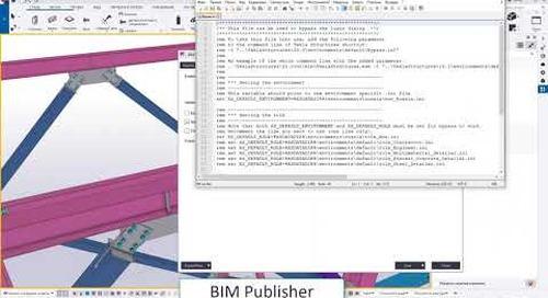 BIM Publisher для выгрузки модели для работы со смежными отделами или заказчиками