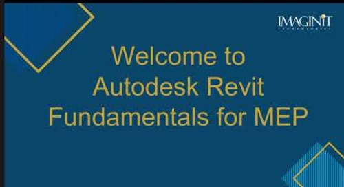 Revit MEP Fundamentals