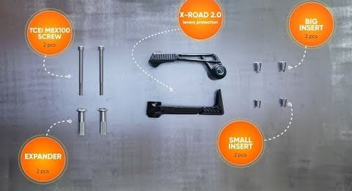 X-ROAD 2.0 LEVERS PROTECTIONS - Installation Guide