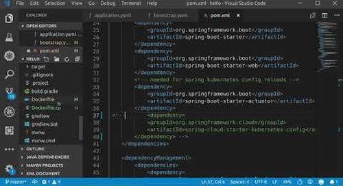 Spring into Kubernetes—Config Server