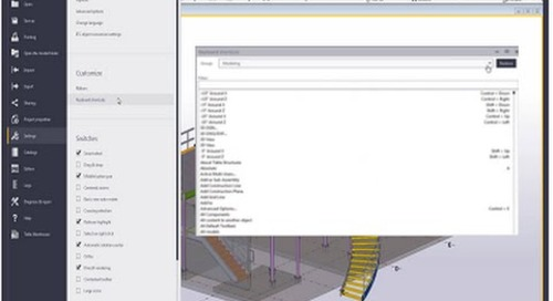 Tekla Structures 2016 Keyboard Shortcuts