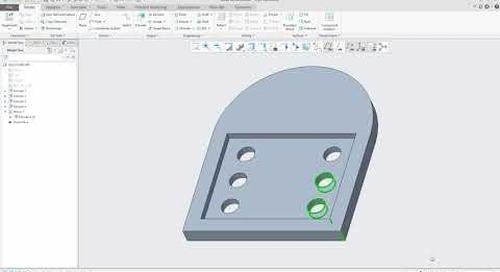 Creo Parametric Tip: 2D Box Selection