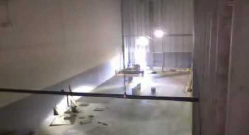 Data Center Build Time Lapse Video #6