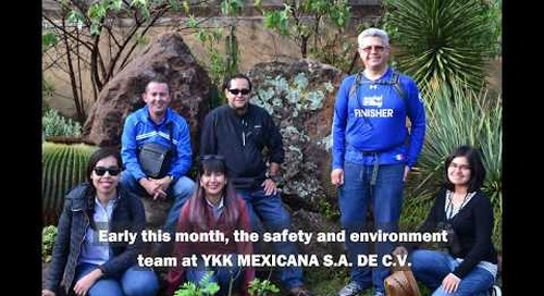 Team building activities at YKK MEXICANA S.A. DE C.V.