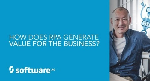 Episode 3: How does RPA generate value for the business?