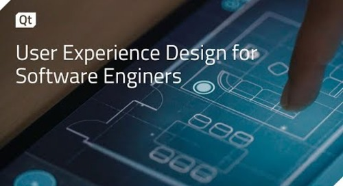 User Experience Design for Software Engineers, The Qt Company & ICS {on-demand webinar}