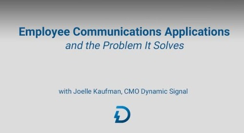 Employee Communications Management and the Problem it Solves