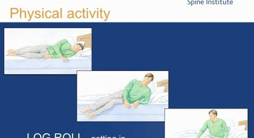 Spine Care Resources: LOG ROLL