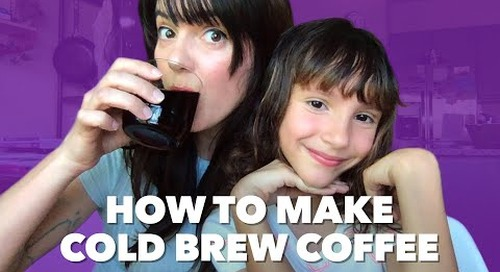 How We Deal at Home: DIY Cold Brew Coffee
