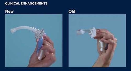 Shiley Flexible Adult Tracheostomy Tubes - New Clinical Enhancements